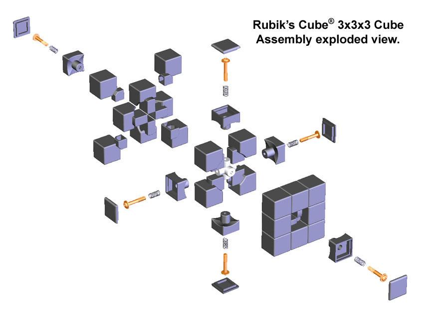 кубики с логотипом: