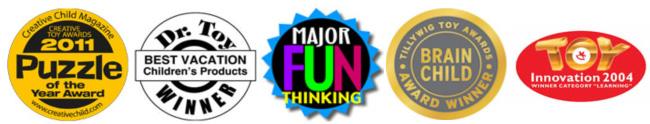 Награды головоломок Recent Toys