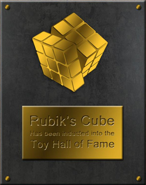 Кубик Рубика в Зале Славы Игрушек с 2104г