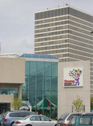 Музей The Strong National Museum of Play. Тут находится знаменитый Зал Славы Игрушек